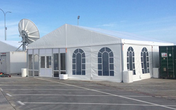 Gable marquees