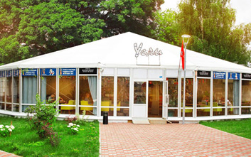 Multifaceted marquees